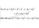 Bài 20 trang 12 sgk toán 8 tập 1