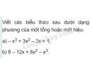 Bài 27 trang 14 SGK Toán 8 tập 1