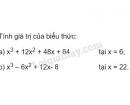 Bài 28 trang 14 SGK Toán 8 tập 1
