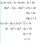 Bài 3 trang 5 sgk toán 8 tập 1.