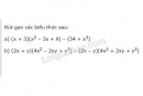 Bài 30 trang 16 SGK Toán 8 tập 1