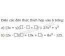 Bài 32 trang 16 sgk toán 8 tập 1