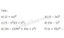 Bài 33 trang 16 SGK Toán 8 tập 1