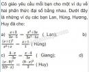 Bài 4 trang 38 SGK Toán 8 tập 1