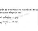 Bài 5 trang 38 SGK Toán 8 tập 1