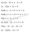 Bài 50 trang 23 sgk toán 8 tập 1