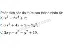 Bài 51 trang 24 SGK Toán 8 tập 1