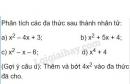 Bài 57 trang 25 sgk toán 8 tập 1