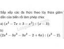 Bài 67 trang 31 SGK Toán 8 tập 1
