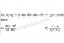 Bài 9 trang 40 SGK Toán 8 tập 1