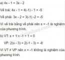 Bài 1 trang 6 sgk toán 8 tập 2