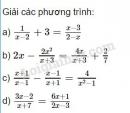 Bài 30 trang 23 SGK Toán 8 tập 2
