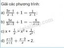 Bài 28 trang 22 sgk toán 8 tập 2