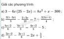 Bài 50 trang 33 sgk toán 8 tập 2