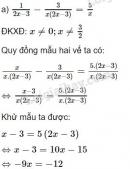 Bài 52 trang 33 SGK Toán 8 tập 2