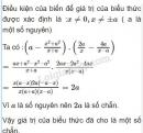 Bài 52 trang 58 SGK Toán 8 tập 1