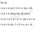 Bài 6 trang 39 sgk toán 8 tập 2