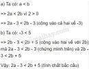 Bài 8 trang 40 sgk toán 8 tập 2
