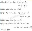 Bài 9 trang 10 SGK Toán 8 tập 2