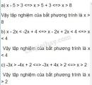Bài 19 trang 47 sgk toán 8 tập 2