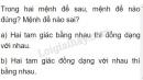 Bài 23 trang 71 SGK Toán 8 tập 2