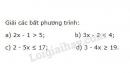Bài 24 trang 47 sgk toán 8 tập 2