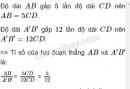 Bài 3 trang 59 - Sách giáo khoa toán 8 tập 2