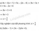 Bài 32 trang 48 SGK Toán 8 tập 2