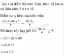 Bài 33 trang 48 SGK Toán 8 tập 2