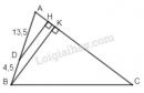 Bài 9 trang 63 - Sách giáo khoa toán 8 tập 2