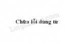 Soạn bài Chữa lỗi dùng từ trang 68 SGK Văn 6