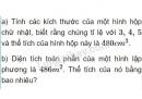 Bài 11 trang 104 sgk toán lớp 8 - tập 2