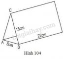 Bài 25 trang 111 sgk toán lớp 8 - tập 2