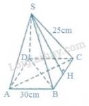 Bài 40 trang 121 sgk toán lớp 8 - tập 2
