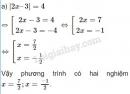 Bài 8 trang 130 SGK Toán 8 tập 2