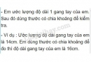 Bài C3 trang 6 sgk vật lý 6