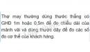 Bài C7 trang 7 sgk vật lý 6