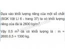 Câu 2 trang 37 - Sách giáo khoa vật lí 6