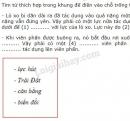 Bài C3 trang 28 SGK Vật lí 6