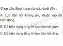 Bài C4 trang 32 SGK Vật lí 6