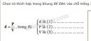 Bài C4 trang 37 SGK Vật lí 6