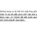 Bài C5 trang 13 SGK Vật lí 6