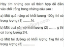 Bài C6 trang 34 SGK Vật lí 6