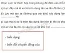 Bài C7 trang 25 SGK Vật lí 6