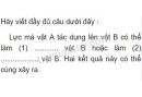 Bài C8 trang 26 sgk vật lý 6