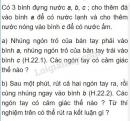 Bài C1 trang 68 SGK Vật lí 6