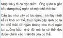 Bài C4 trang 69 SGK Vật lí 6