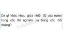 Bài C1 trang 84 sgk vật lí 6