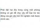 Bài C6 trang 82 SGK Vật lí 6