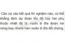 Bài C8 trang 82 SGK Vật lí 6